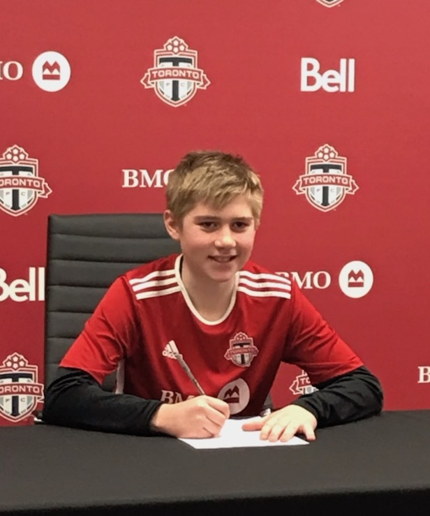 3baadeeafa8 Ryan is on a high after penning his Toronto FC contract this week