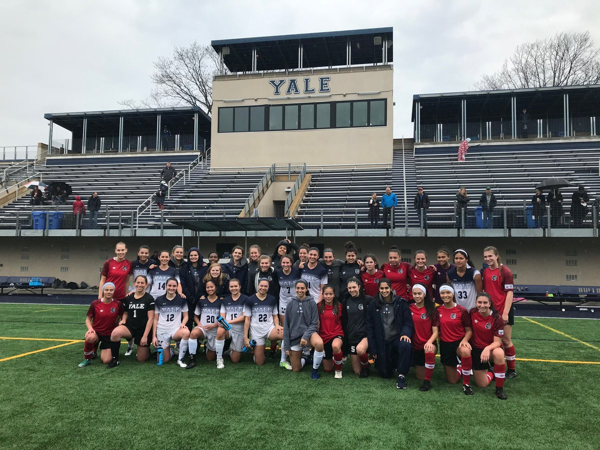 b03348f2040 Nitros and the Yale Bulldogs before our girls  clash against the Ivy League  powerhouse team